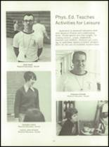 1972 Lexington High School Yearbook Page 158 & 159