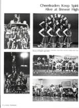 1981 Brewer High School Yearbook Page 56 & 57