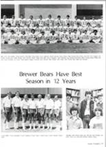 1981 Brewer High School Yearbook Page 58 & 59
