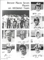 1981 Brewer High School Yearbook Page 62 & 63