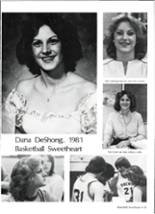 1981 Brewer High School Yearbook Page 68 & 69