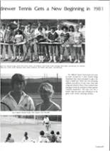 1981 Brewer High School Yearbook Page 92 & 93