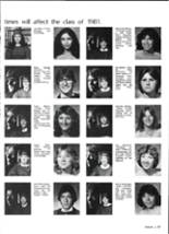 1981 Brewer High School Yearbook Page 110 & 111