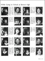 1981 Brewer High School Yearbook Page 128 & 129