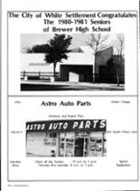 1981 Brewer High School Yearbook Page 194 & 195