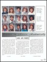 1989 Danville High School Yearbook Page 154 & 155