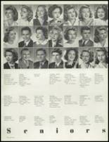 1945 Hammond High School Yearbook Page 20 & 21