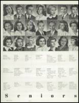 1945 Hammond High School Yearbook Page 24 & 25
