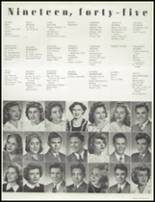 1945 Hammond High School Yearbook Page 32 & 33