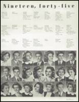 1945 Hammond High School Yearbook Page 34 & 35