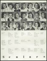 1945 Hammond High School Yearbook Page 36 & 37