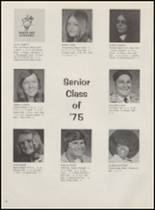 1975 Idabel High School Yearbook Page 22 & 23