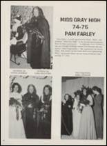 1975 Idabel High School Yearbook Page 60 & 61