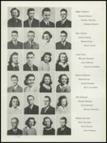 1942 Washington High School Yearbook Page 16 & 17
