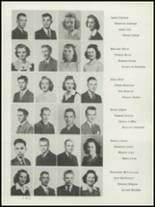 1942 Washington High School Yearbook Page 20 & 21