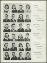 1942 Washington High School Yearbook Page 22 & 23