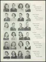 1942 Washington High School Yearbook Page 24 & 25