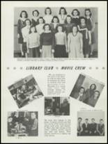 1942 Washington High School Yearbook Page 46 & 47