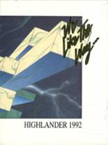 1992 Yearbook Highland High School