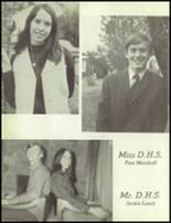 1971 Delight High School Yearbook Page 18 & 19