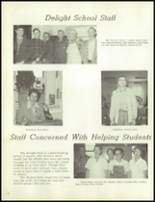 1971 Delight High School Yearbook Page 50 & 51