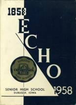 1958 Yearbook Dubuque High School