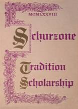1978 Yearbook Schurz High School