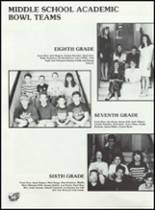 1991 Golden Plains High School Yearbook Page 58 & 59