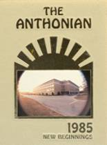 1985 Yearbook St. Anthony's High School
