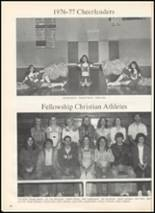 1977 Ninnekah High School Yearbook Page 86 & 87