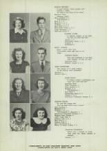 1949 East Palestine High School Yearbook Page 12 & 13
