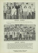 1949 East Palestine High School Yearbook Page 38 & 39
