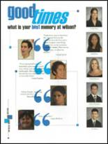 2002 Woodrow Wilson High School Yearbook Page 84 & 85