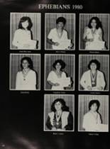 1980 James Garfield High School Yearbook Page 206 & 207