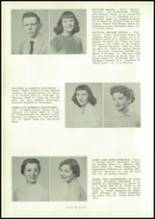 1954 Central High School Yearbook Page 16 & 17