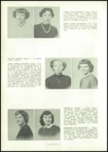 1954 Central High School Yearbook Page 20 & 21