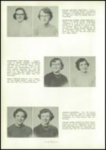 1954 Central High School Yearbook Page 22 & 23