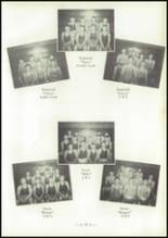 1954 Central High School Yearbook Page 56 & 57