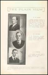 1921 Plainview High School Yearbook Page 10 & 11