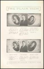 1921 Plainview High School Yearbook Page 20 & 21