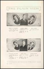 1921 Plainview High School Yearbook Page 24 & 25