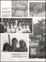 1984 Hall High School Yearbook Page 22 & 23