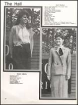 1984 Hall High School Yearbook Page 44 & 45