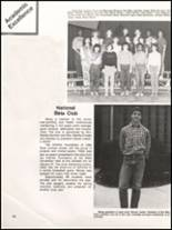 1984 Hall High School Yearbook Page 68 & 69