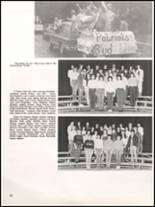 1984 Hall High School Yearbook Page 72 & 73
