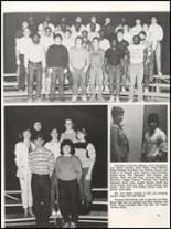 1984 Hall High School Yearbook Page 74 & 75
