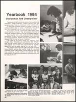 1984 Hall High School Yearbook Page 126 & 127