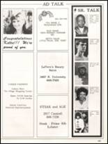 1984 Hall High School Yearbook Page 242 & 243