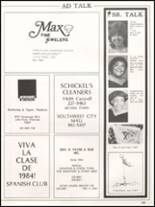 1984 Hall High School Yearbook Page 248 & 249