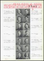 1941 Uniontown High School Yearbook Page 20 & 21